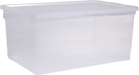 Ящик Idea, цвет: прозрачный, 50 л, 53 х 37 х 30 смМ 2354Ящик Idea выполнен из прочного пластика и предназначен для хранения различныхпредметов. Вместительный ящик плотно закрывается при помощи крышки.Вместительный ящик позволит сохранить нужные вещи в чистоте и порядке, а герметичнаякрышка предотвратит случайное открывание, защитит содержимое от пыли и грязи.Размер ящика (с учетом крышки): 37,5 х 53 см х 30,5 см.Объем ящика: 50 л.