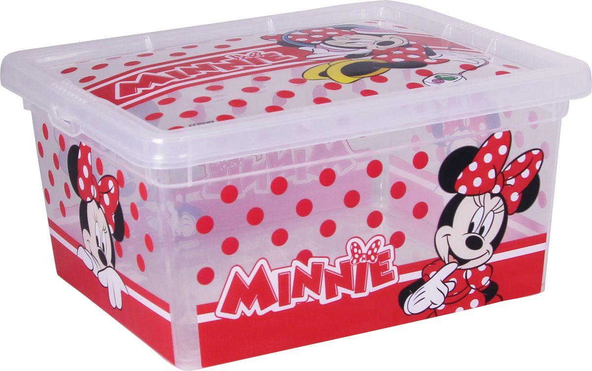 Ящик для хранения Disney Деко, цвет: белый, 2 л. М 2355-Д жидкая помада absolute new york velvet lippie 03 цвет avl03 mojito variant hex name 8ecfa6