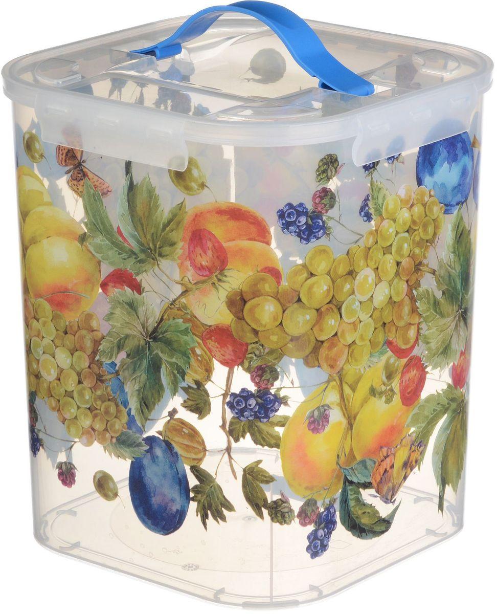Контейнер для хранения Idea Фрукты, 10 л контейнер для хранения idea ягоды 10 л