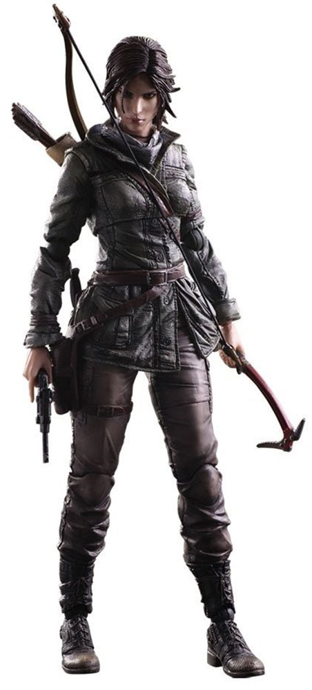 Rise Of The Tomb Raider. Фигурка Play Arts Kai Lara Croft 27 см buckethead decoding the tomb of bansheebot