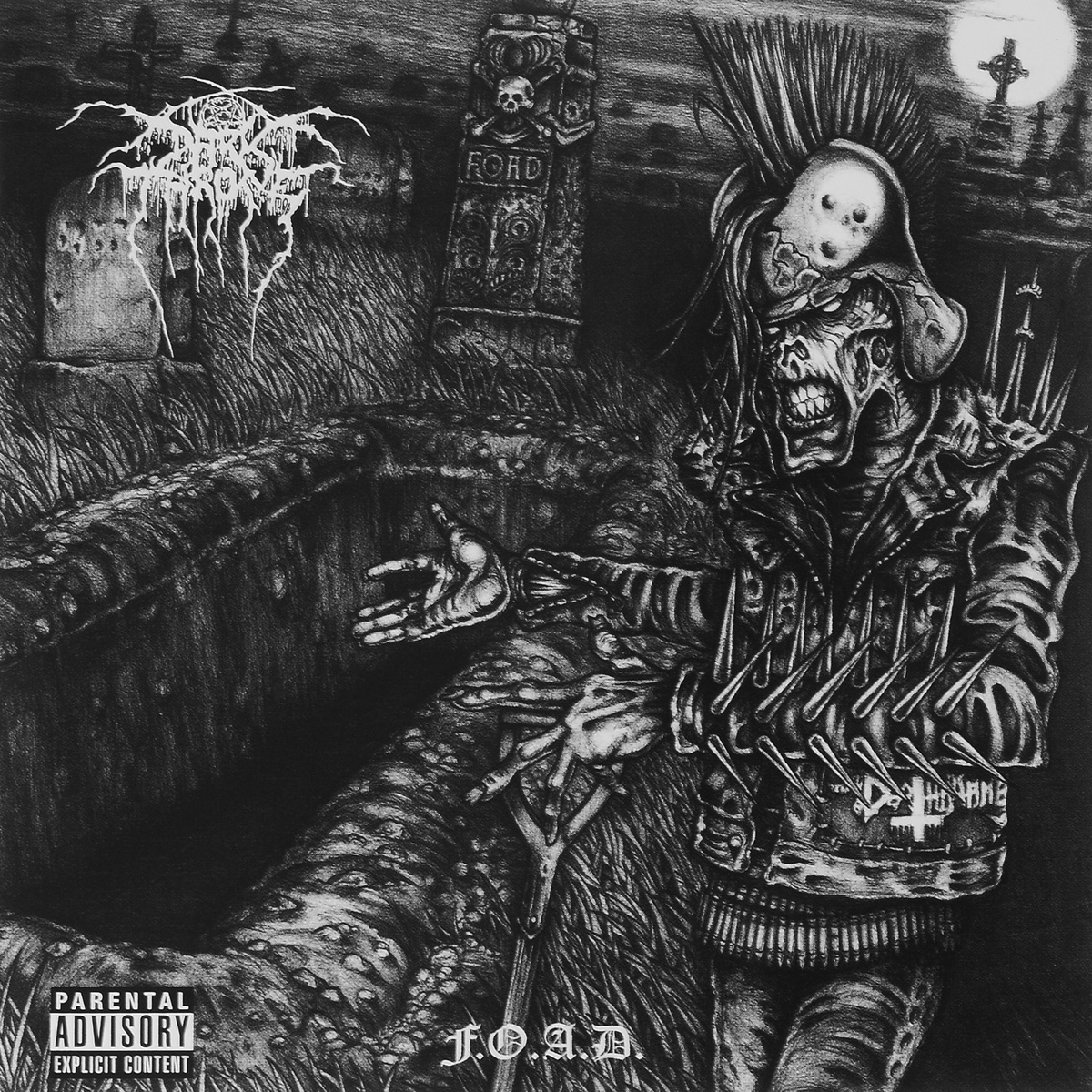 Darkthrone Darkthrone. F.O.A.D darkthrone darkthrone goatlord deluxe edition 2 cd