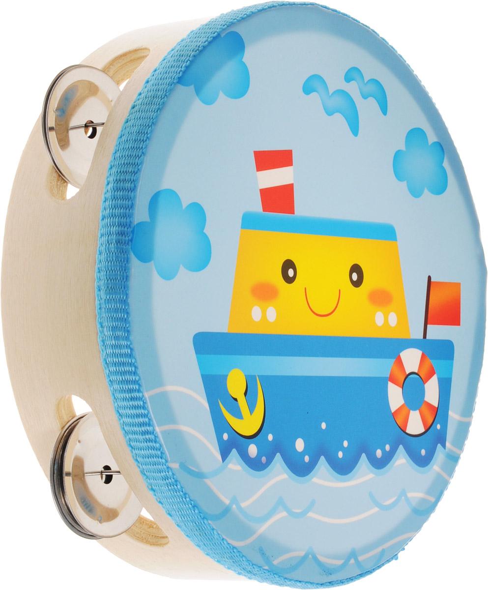 Мир деревянных игрушек Бубен Кораблик