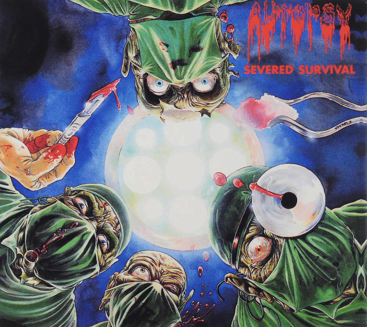 Autopsy Autopsy. Severed Survival (2 CD) autopsy autopsy tourniquets hacksaws and graves