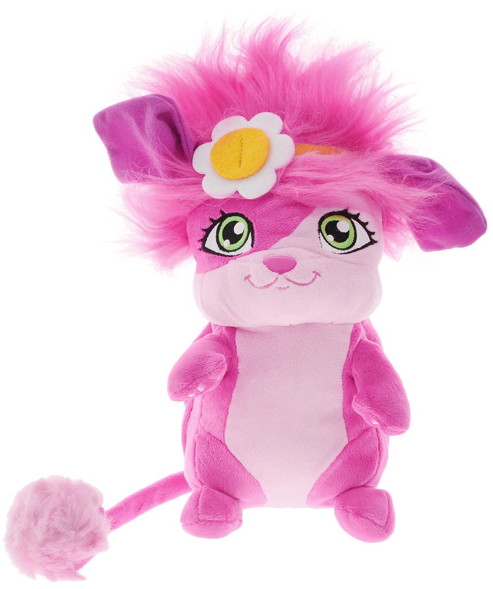 Popples Мягкая игрушка Popples цвет розовый 28 см игрушка