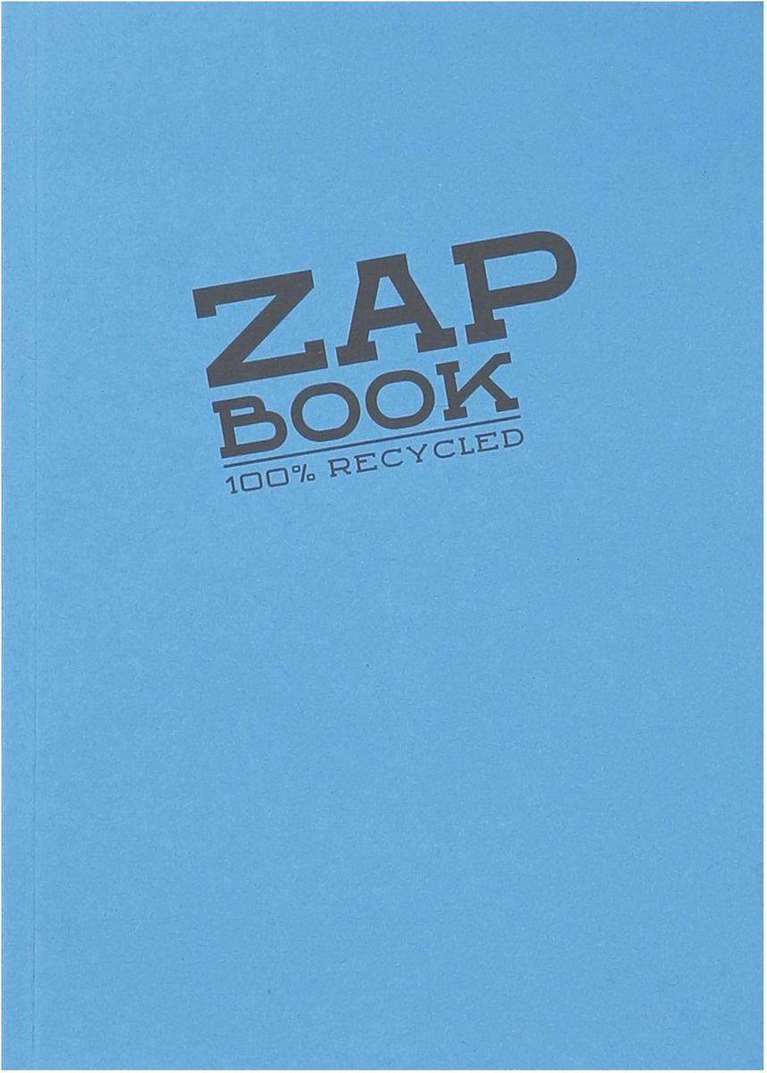Блокнот Clairefontaine Zap Book, цвет: голубой, формат A5, 160 листов3358СОригинальный блокнот Clairefontaine идеально подойдет для памятных записей, любимых стихов, рисунков и многого другого. Плотная обложкапредохраняет листы от порчи изамятия. Такой блокнот станет забавным и практичным подарком - он не затеряется среди бумаг, и долгое время будет вызывать улыбку окружающих.