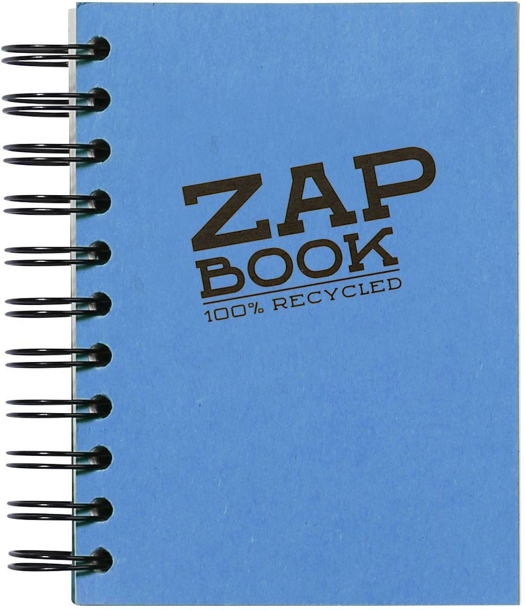 Блокнот Clairefontaine Zap Book, на спирали, цвет: синий, формат A6, 160 листов8353СОригинальный блокнот Clairefontaine идеально подойдет для памятных записей, любимых стихов, рисунков и многого другого. Плотная обложкапредохраняет листы от порчи изамятия. Такой блокнот станет забавным и практичным подарком - он не затеряется среди бумаг, и долгое время будет вызывать улыбку окружающих.
