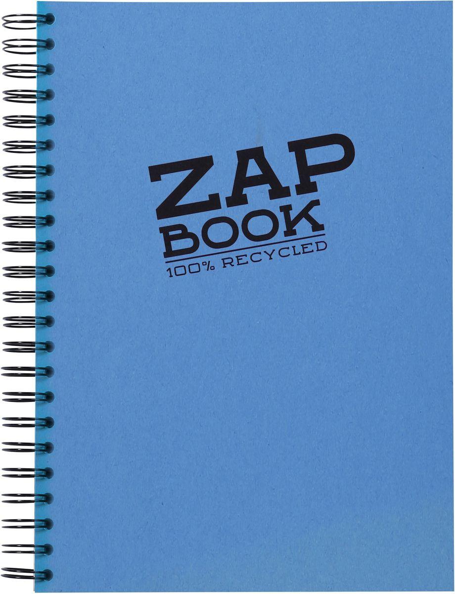 Блокнот Clairefontaine Zap Book, на спирали, цвет: синий, формат A4, 160 листов8354СОригинальный блокнот Clairefontaine идеально подойдет для памятных записей, любимых стихов, рисунков и многого другого. Плотная обложкапредохраняет листы от порчи изамятия. Такой блокнот станет забавным и практичным подарком - он не затеряется среди бумаг, и долгое время будет вызывать улыбку окружающих.