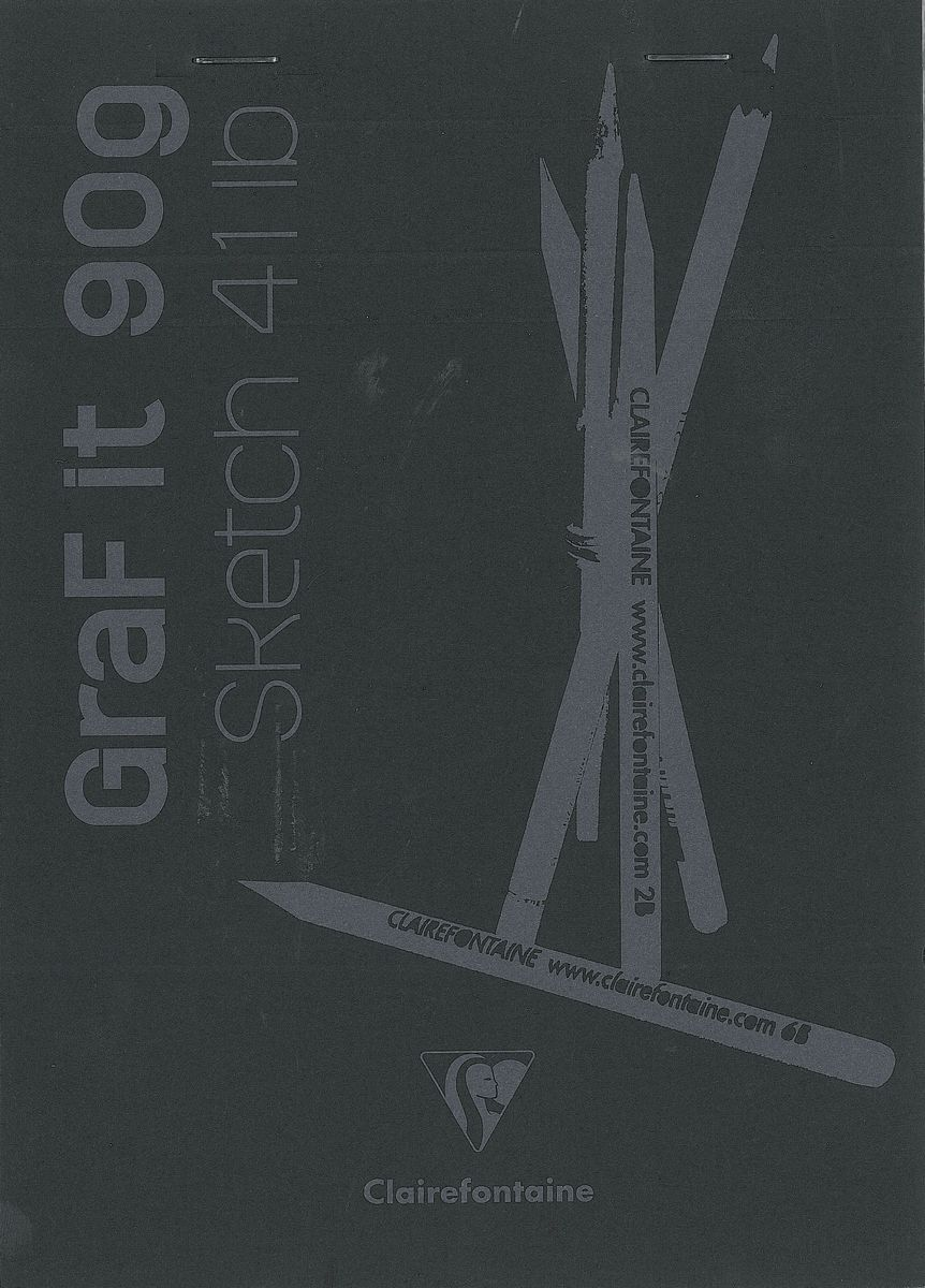 Блокнот Clairefontaine Graf It, для сухих техник, с перфорацией, цвет: черный, формат A5, 80 листов. 96842С96842СОригинальный блокнот Clairefontaine идеально подойдет для памятных записей, любимых стихов, рисунков и многого другого. Плотная обложкапредохраняет листы от порчи изамятия. Такой блокнот станет забавным и практичным подарком - он не затеряется среди бумаг, и долгое время будет вызывать улыбку окружающих.