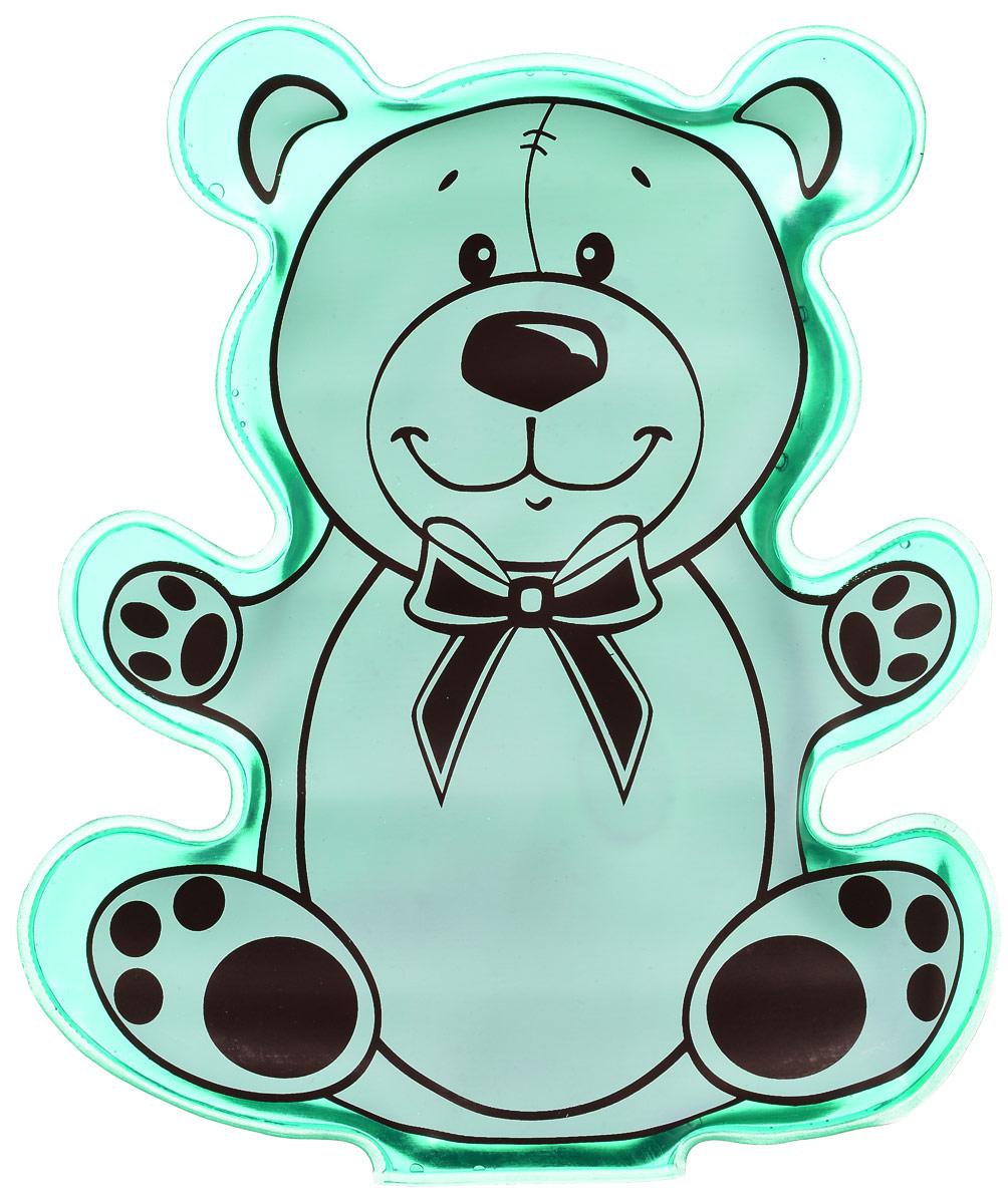 Грелка солеваяМишка, цвет: зеленый массажер дельтатерм чемпион