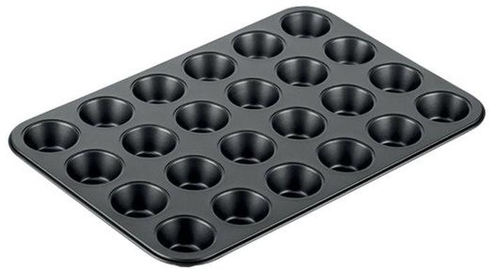 Форма для выпечки Tescoma Delicia, 24 ячейки, 38 х 26 см. 623226 форма для выпечки tescoma delicia 36 x 25см 623042