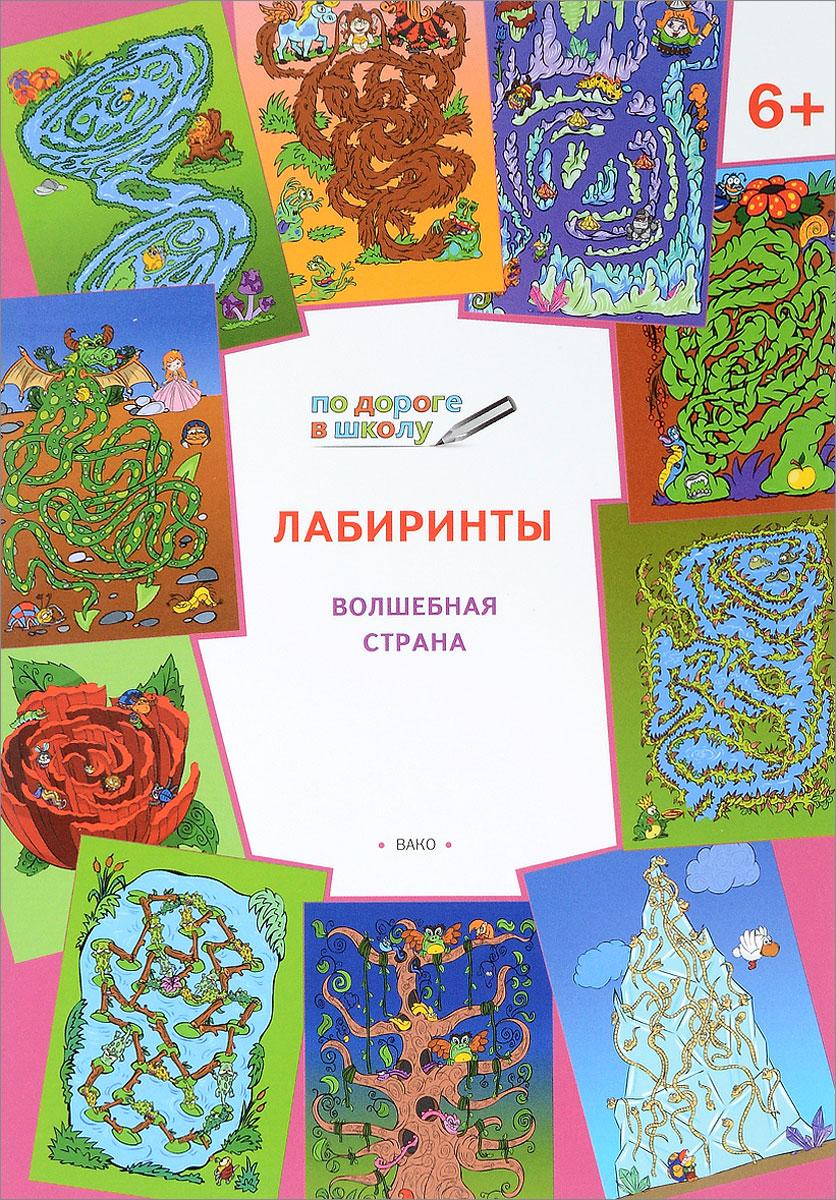 Лабиринты. Волшебная страна. Тетрадь для занятий с детьми 6-7 лет