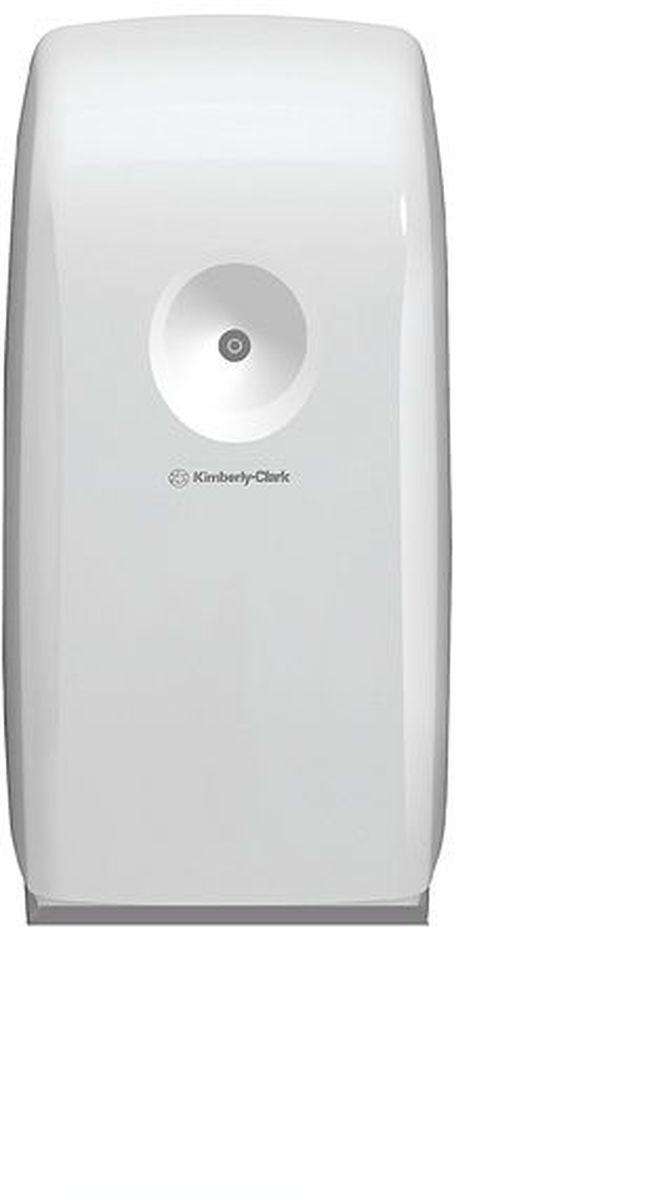 Диспенсер для освежителя воздуха Aquarius, цвет: белый. 69946994Новый диспенсер AQUARIUS® для освежителя воздуха был специально разработан для создания приятной атмосферы на рабочих местах, минималистичный дизайн, удобная система программирования, простота в обслуживании. Идеальное решение для создания устойчивого аромата в туалетных комнатах. Максимально эфективная система, создана специально для улучшения благоприятной атмосферы и повышения производительности на рабочем месте. Запираемый диспенсер имеет возможность задавать временные интервалы для распыления освежителя, время начала рабочего дня, а также дни недели в которые он будет работать. Формат: современный, компактный, гигиеничный диспенсер, не имеет мест скопления пыли. Подходит для картриджей освежителей воздуха Kimberly-Clark PROFESSIONAL ® 6181 - Harmony, 6182 - Energy, 6183 - Joy, 6184 - Fresh, 6185 - Zen. Замена диспенсера 6971 и 6984.