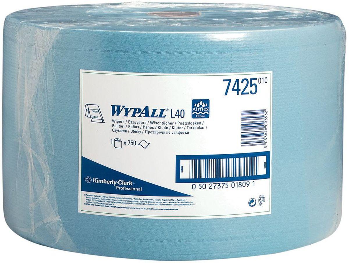 Полотенца бумажные Wypall L40, трехслойные, 750 листов. 74257425Бумажные полотенца Wypall L40 - это идеальное решение для сухой очистки оборудования высокой степени важности и поверхностей в фармацевтической промышленности, в высокотехнологичных биотехнологических отраслях, при производстве медицинского оборудования, а также очистки на участках пищевой промышленности. Полотенца Wypall L40 могут использоваться с переносными или стационарными диспенсерами для контроля расхода продукта и уменьшения объема отходов. Количество: 750 шт.