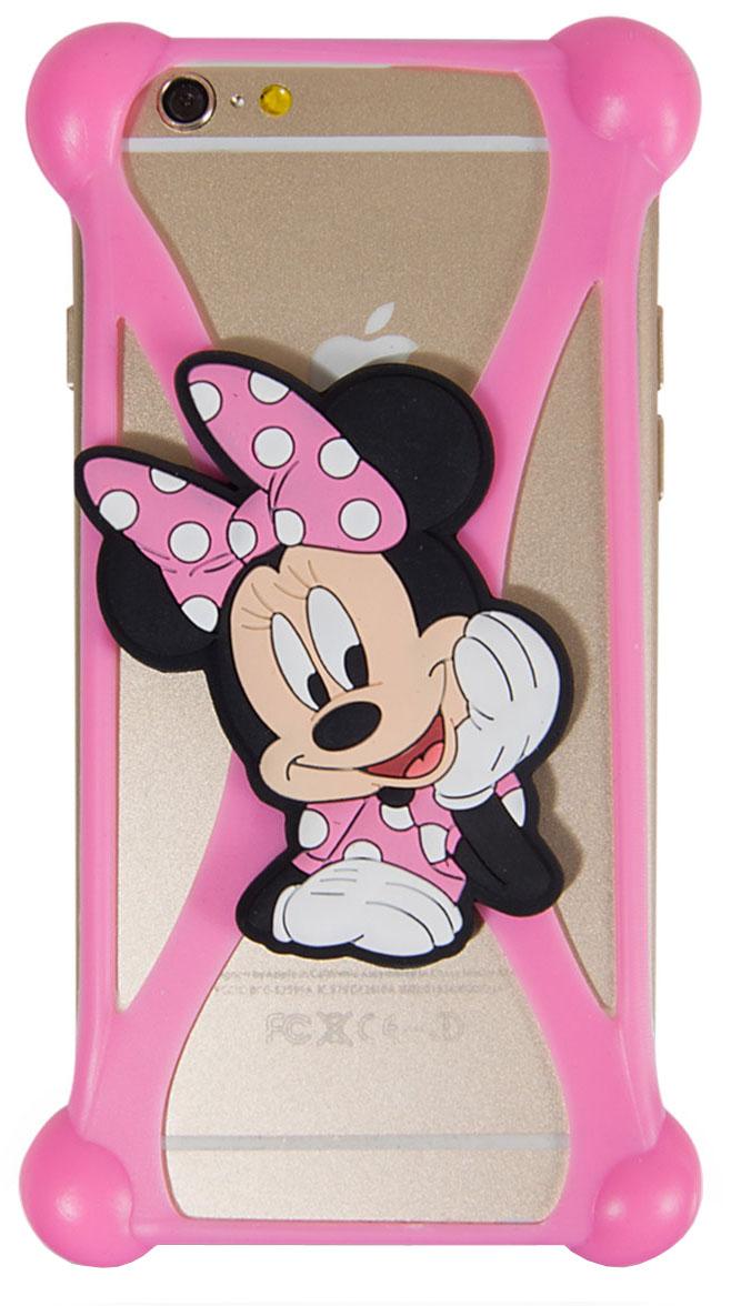 Disney Лукас Минни 4 универсальный чехол для смартфонов с диагональю 3,5-4,74627104422932Универсальный чехол Disney Лукас Минни 4 для смартфонов с диагональю 3,5-4,7 - случай редкого сочетания яркости и чувства мерь. Это стильная и элегантная деталь вашего образа, которая всегда обращает на себя внимание среди множества вещей. Чехол надежно защитит ваш смартфон от внешних воздействий, грязи, пыли, брызг. Он также поможет при ударах и падениях, не позволив образоваться на корпусе царапинам и потертостям. Чехол обеспечивает свободный доступ ко всем функциональным кнопкам смартфона и камере.