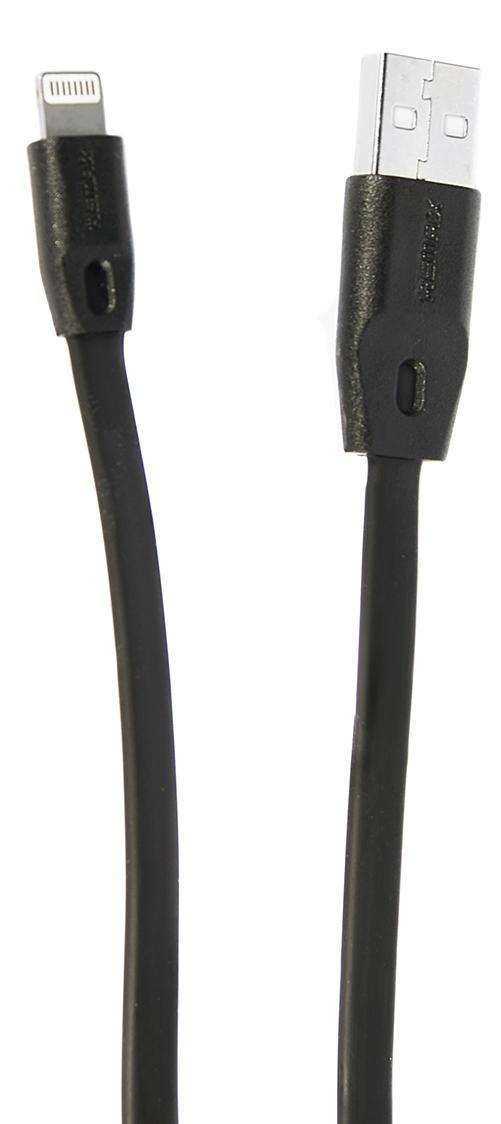Remax 161, Black кабель USB-Lightning4627112730784Кабель Remax 161 позволяет подключить ваш iPhone, iPad или iPod с разъемом Lightning к порту USB на компьютере для синхронизации и зарядки. Кроме того, его можно подключить к адаптеру питания USB, чтобы зарядить устройство от розетки. Remax 161 - незаменимая и качественная деталь для повседневной жизни.