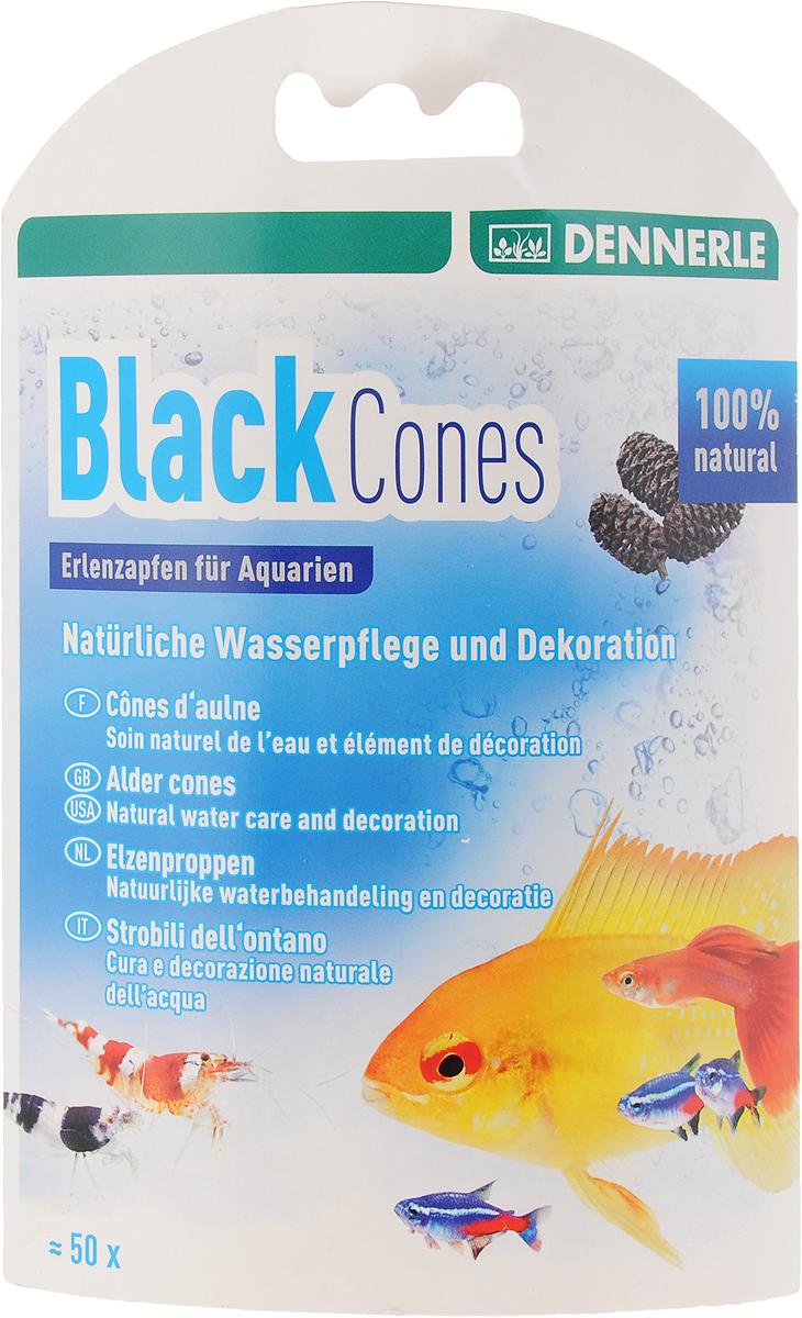 Сережки ольховые Dennerle  Black Cones Erlenzapfen , 50 шт - Средства для ухода и гигиены