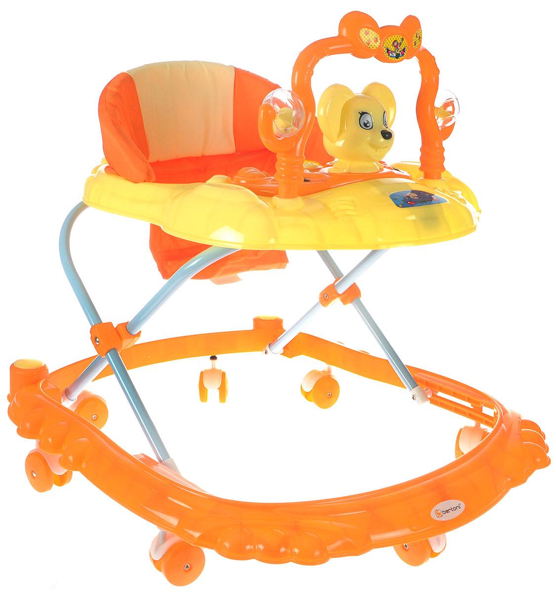 Bertoni Ходунки BW W2808 цвет оранжевый - Ходунки, прыгунки, качалки