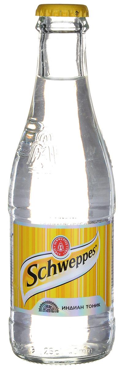 Schweppes Индиан Тоник напиток сильногазированный, 0,25 л schweppes bitter lemon напиток сильногазированный 330 мл