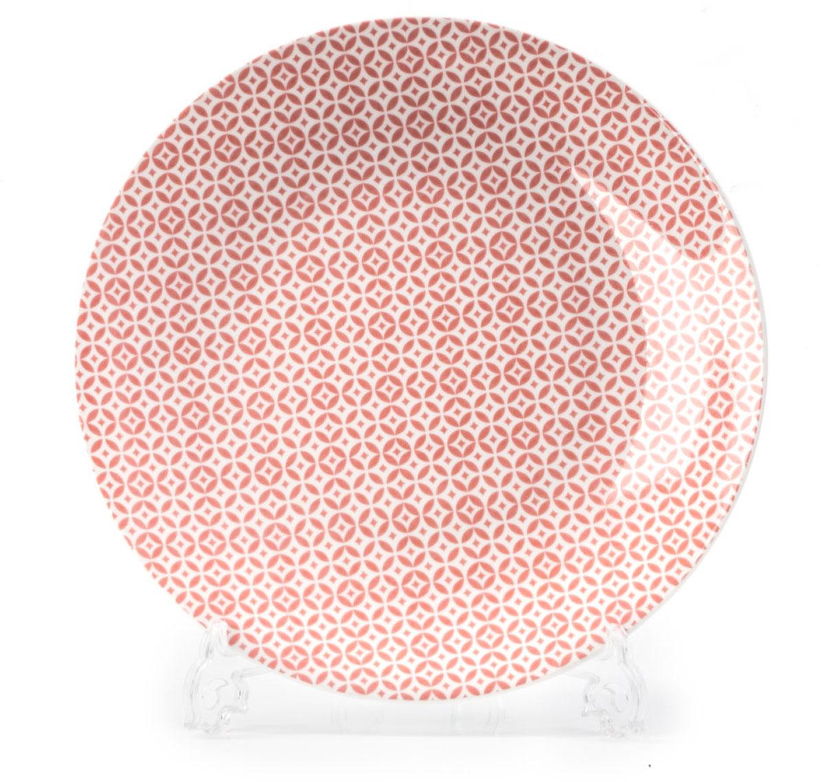 Тарелка La Rose des Sables Витон, цвет: розовый, диаметр 27 см720127 2278Тарелка La Rose des Sables Витон выполнена из тунисского фарфора,изготовленного из уникальной белой глины, которую добывают во французскойпровинции Лимож. Фарфоровая тарелка из знаменитой Лиможской глины.Фарфор превосходного качества. Благодаря двойному термическому обжигу,этот тонкостенный фарфор обладает высокой ударопрочностью,жаропрочностью и великолепным блеском глазури. Тарелка идеально подходит для повседневного использования. Отличносмотрится в любом интерьере.Можно использовать в СВЧ печи и мыть в посудомоечной машине. Диаметр: 27 см.