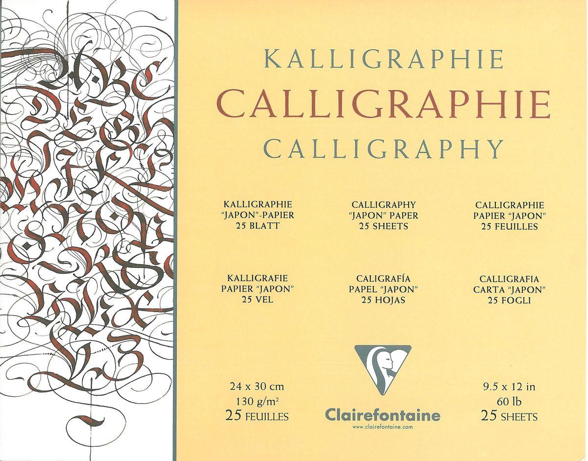 Альбом Clairefontaine Calligraphy, для каллиграфии, 25 листов, 24 х 30 см96439САльбом Clairefontaine Calligraphy состоит из 25 листов высококачественной бумаги белого цвета. Данная бумага идеально подходит для каллиграфии. Твердая подложка позволяет использовать альбом вне класса или дома. Рисование в таких альбомах доставит максимальное удовольствие художникам любого возраста.