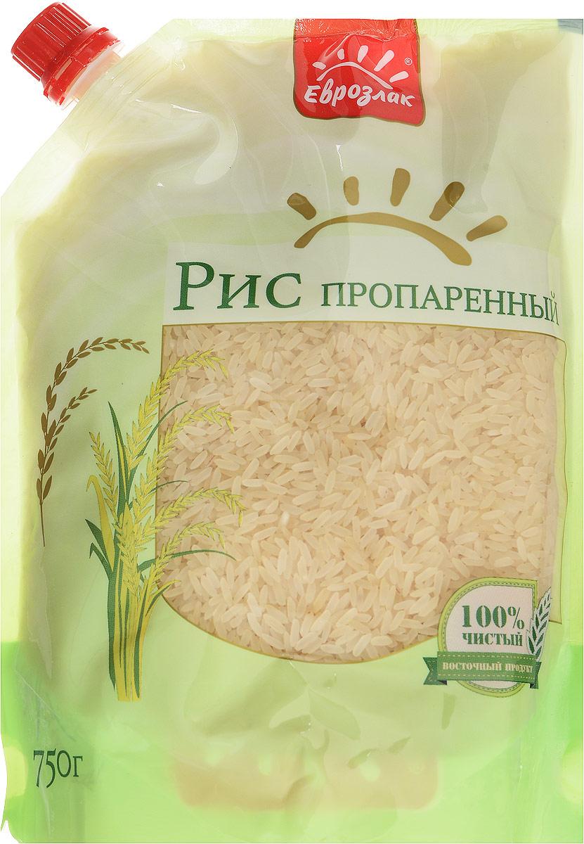 Еврозлак рис пропаренный, 750 г4607114150186Пропаренный рис Еврозлак - высококачественный длиннозерный рис, прошедший специальную обработку паром, при этом 80% полезных веществ удерживаются в зерне. Пропаренный рис Еврозлак выделяется оригинальным золотистым цветом, его зерна менее ломки, после варки становятся белоснежными, мягкими и очень рассыпчатыми. Этот рис сочетает в себе отличные вкусовые и эстетические качества, насыщен полезными элементами и часто используется в диетическом питании.Упаковка дой-пак герметична, что обеспечивает не только повышенный срок хранения, но и предотвращает попадание внутрь влаги и других нежелательных компонентов. Продукты в этой упаковке компактно размещаются в хозяйственном шкафу, содержимое вскрытого пакета не просыпается, а дозатор позволяет рационально использовать содержимое.