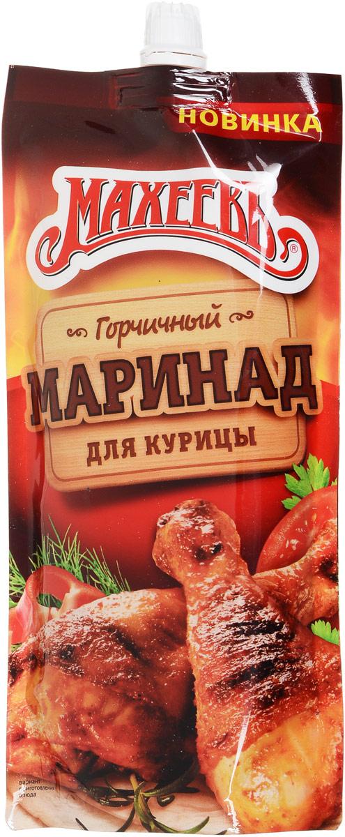 Махеев приправа пищевкусовая маринад традиционный для курицы горчичный, 300 г