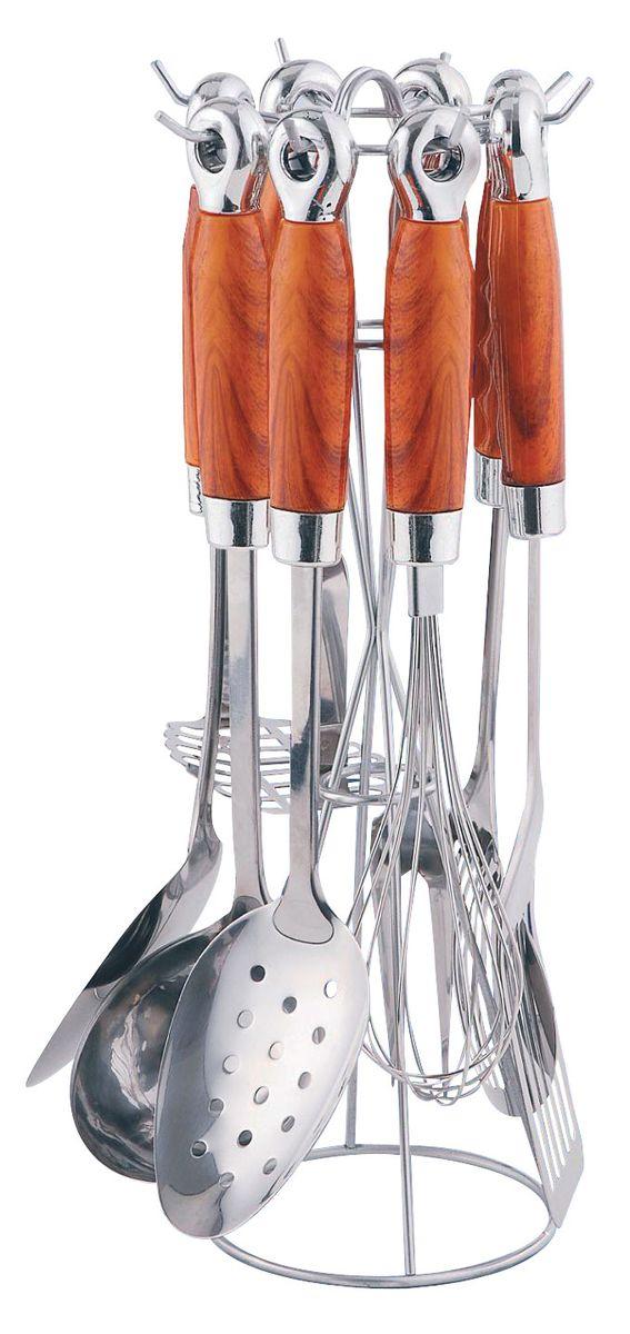 Набор кухонных принадлежностей Bohmann, 8 предметов. 7755BH набор кухонных ножей bohmann на подставке 7 предметов