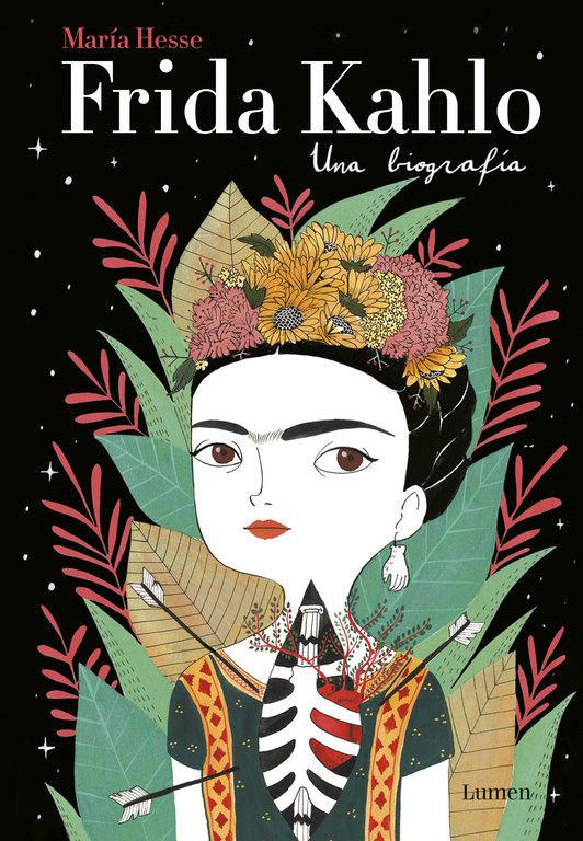 Frida Kahlo. Una biografia pintura de laca rusa