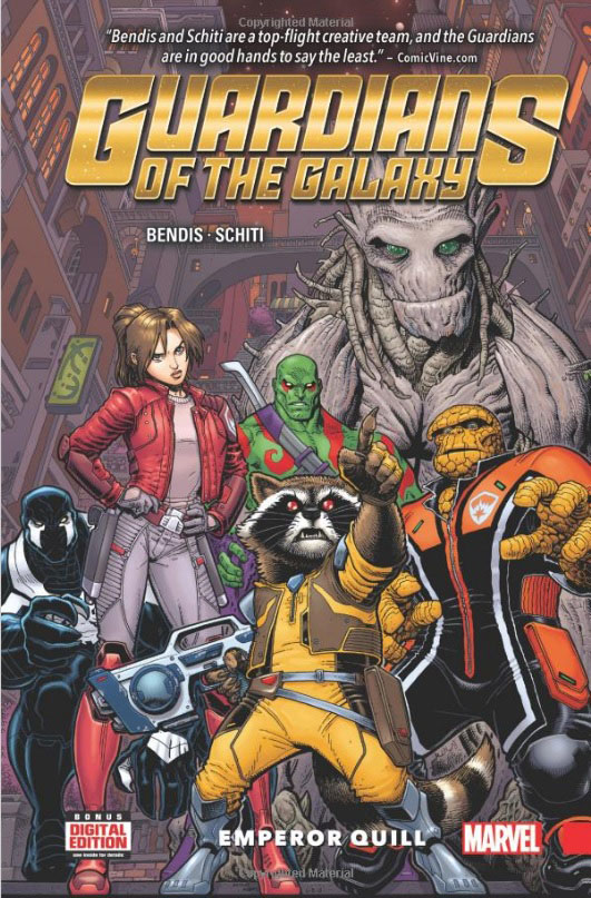 Guardians of the Galaxy: New Guard Vol. 1: Emporer Quill guardians of the galaxy new guard vol 1 emporer quill