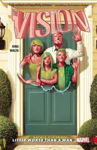 Vision Vol. 1: Little Worse Than A Man powers the definitive hardcover collection vol 7