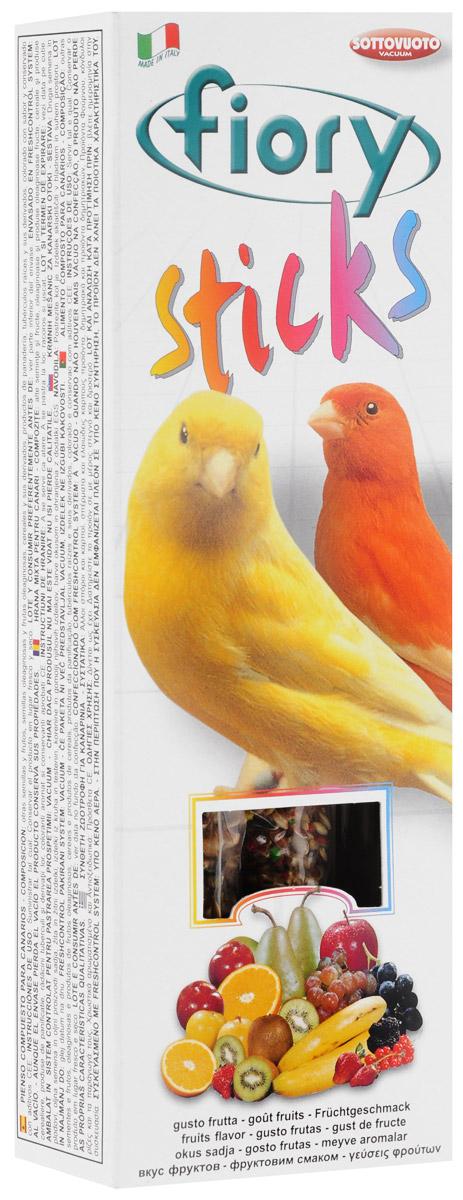 Палочки для канареек Fiory Sticks, с фруктами, 2 х 30 г2505Палочки для канареек Fiory Sticks состоят из фруктов и десяти разновидностей семян, которые богаты белками и жирами и обладают освежающим и стимулирующим действием.Клейкое вещество особенно вкусно, и птицам легко его клевать. Канарейки могут склевывать семена, не раскалывая их на куски и не разбрасывая крошки по дну клетки.Поскольку продукт отличается высоким содержанием белков, им не следует злоупотреблять. Как и все дополнительное питание, палочки считаются лакомством и являются добавкой к обычному рациону птицы.Товар сертифицирован.