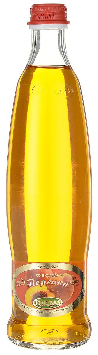 Darbas Персик лимонад, 0,5 л мингаз лимонад напиток 1 5 л