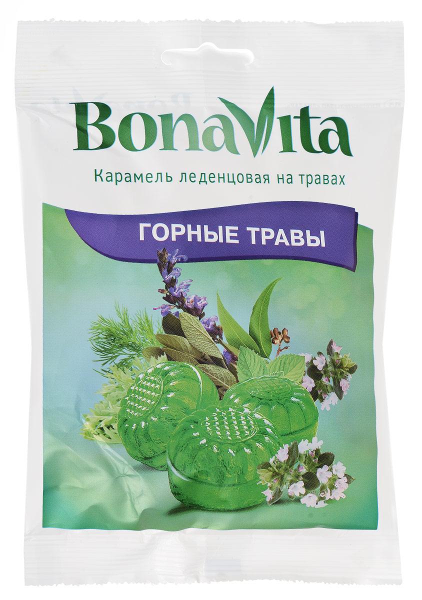 Bona Vita Карамель леденцовая Горные травы на травах, 60 г bona vita батончик ореховый с семенами подсолнечника орехами и медом в шоколадной глазури 35 г