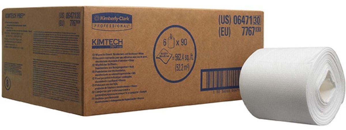 Полотенца бумажные Kimtech Wettask DS, 6 рулонов. 77677767Бумажные полотенца Kimtech Wettask DS - это идеальное решение для очистки и дезинфекции без распыления химикатов, инфекционный контроль в лечебных заведениях. Полотенца препятствуют образованию плесени и бактерий. Заправляемая, герметичная система очистки на основе предварительно пропитанных салфеток помогает снизить затраты на растворители и дезинфицирующие средства, повышает уровень безопасности за счет предотвращения разливов. Ведро-диспенсер приобретается отдельно.В наборе: 6 рулонов. Количество листов в рулоне: 90 шт.