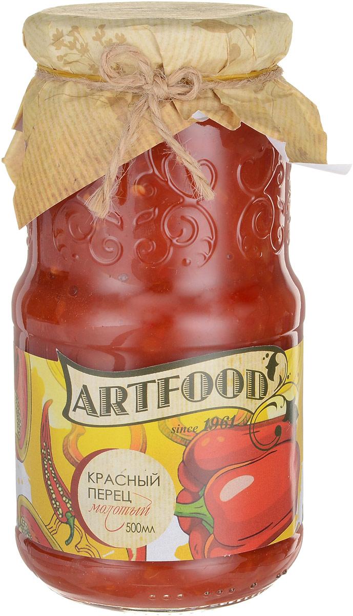 Artfood красный перец молотый, 500 мл artfood лечо 720 мл