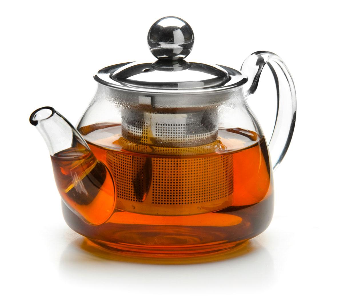 Чайник заварочный Mayer & Boch, с ситом, 200 мл. 2619926199Заварочный чайник Mayer & Boch изготовлен из термостойкого боросиликатного стекла, крышка и фильтр выполнены из нержавеющей стали. Изделия из стекла не впитывают запахи, благодаря чему вы всегда получите натуральный, насыщенный вкус и аромат напитков. Заварочный чайник из стекла удобно использовать для повседневного заваривания чая практически любого сорта. Но цветочные, фруктовые, красные и желтые сорта чая лучше других раскрывают свой вкус и аромат при заваривании именно в стеклянных чайниках, а также сохраняют все полезные ферменты и витамины, содержащиеся в чайных листах. Стальной фильтр гарантирует прозрачность и чистоту напитка от чайных листьев, при этом сохранив букет и насыщенность чая. Прозрачные стенки чайника дают возможность насладиться насыщенным цветом заваренного чая.Изящный заварочный чайник Mayer & Boch будет прекрасно смотреться в любом интерьере. Подходит для мытья в посудомоечной машине.