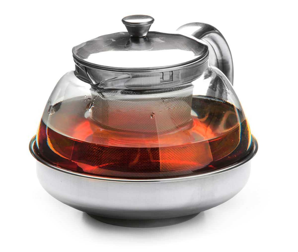 Чайник заварочный Mayer & Boch, с ситом, 600 мл. 2620326203Заварочный чайник Mayer & Boch изготовлен из термостойкого боросиликатного стекла, крышка, ручка, часть корпуса и фильтр выполнены из нержавеющей стали. Изделия из стекла не впитывают запахи, благодаря чему вы всегда получите натуральный, насыщенный вкус и аромат напитков.Заварочный чайник из стекла удобно использовать для повседневного заваривания чая практически любого сорта. Но цветочные, фруктовые, красные и желтые сорта чая лучше других раскрывают свой вкус и аромат при заваривании именно в стеклянных чайниках, а также сохраняют все полезные ферменты и витамины, содержащиеся в чайных листах. Стальной фильтр гарантирует прозрачность и чистоту напитка от чайных листьев, при этом сохранив букет и насыщенность чая. Прозрачные стенки чайника дают возможность насладиться насыщенным цветом заваренного чая. Изящный заварочный чайник Mayer & Boch будет прекрасно смотреться в любом интерьере. Подходит для мытья в посудомоечной машине.