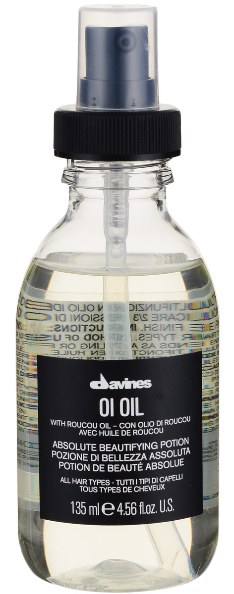 Davines Масло для абсолютной красоты волос Essential Haircare Ol Oil Absolute beautifying potion, 135 мл davines ol all in one milk