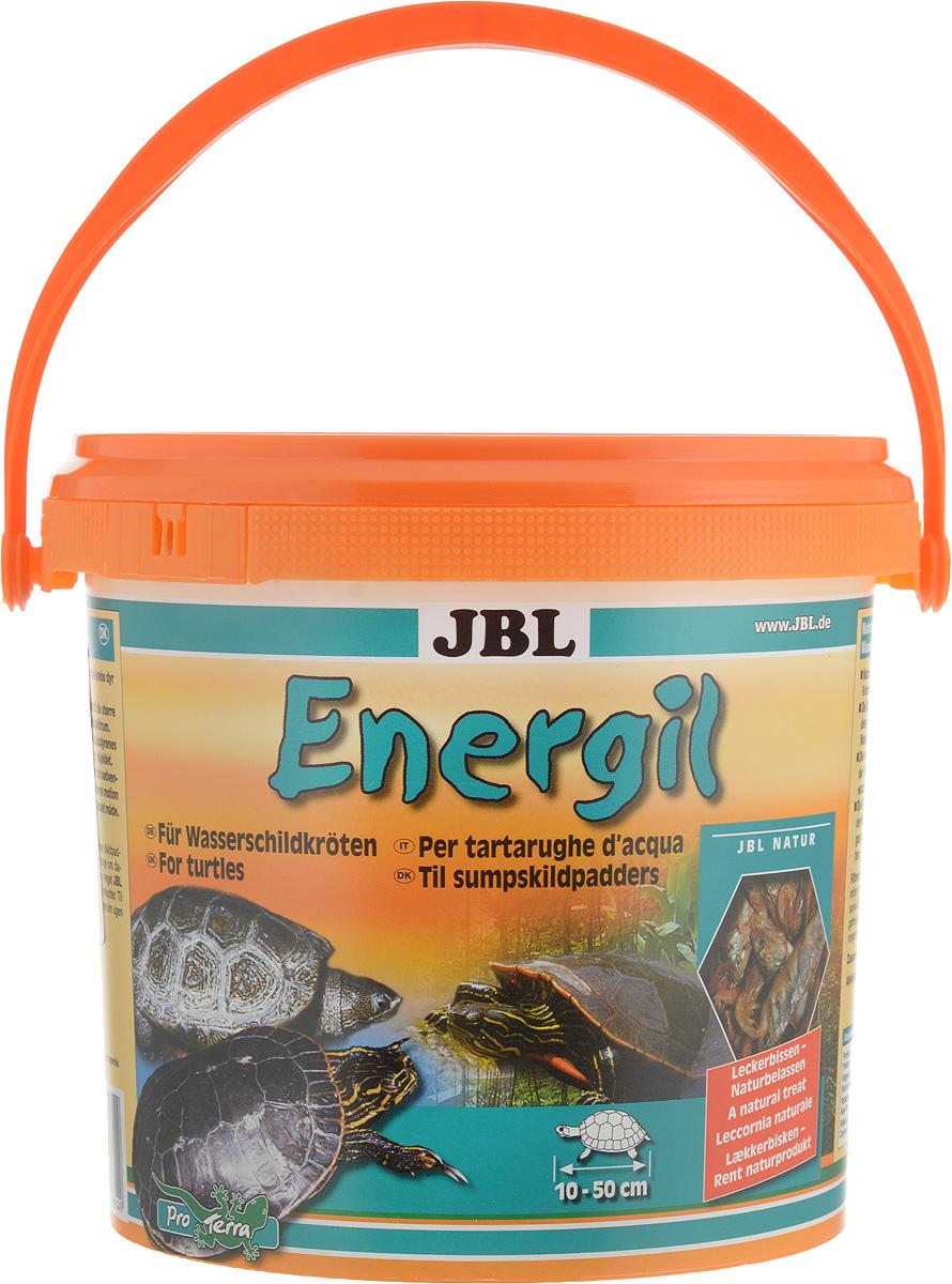 Корм для водных черепах JBL Energil, из целиком высушенных рыб и рачков, 2,5 л (500 г) островок для водных черепах киев