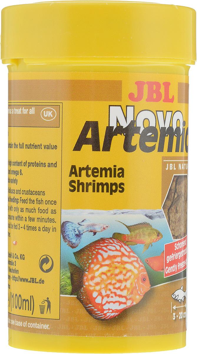 Корм для рыб JBL NovoArtemio, 100 мл (6 г) jbl novocrabs корм для панцирных ракообразных 100 мл 45 г