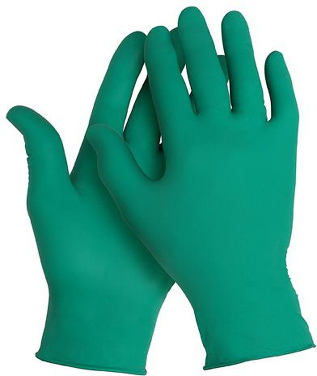 Перчатки хозяйственные Kleenguard G20, размер 9 (L), цвет: зеленый, 1250 шт90093Ассортимент перчаток для защиты рук от химических веществ и механических воздействий – повышают безопасность работ и сокращают затраты. Идеальное решение, обеспечивающее защиту уровня СИЗ категории III (CE Complex) от брызг химических веществ в медицине, полиграфии, сельском хозяйстве, на участках сборки и окраски автомобилей, при выполнении аварийных работ, сборе мусора, химических разливов и утилизации отходов. Не содержат латекс и присыпок. Прочные и эргономичные перчатки с высокой тактильной чувствительностью. Могут быть использованы в пищевой промышленности или HoReCa.Формат поставки: сверхтонкие перчатки с универсальным дизайном для обеих рук; не содержат присыпку и латекс; усиленная манжета для дополнительной прочности, рельефная поверхность пальцев для лучшего захвата; широкий ассортимент размеров – от XS до XL – обеспечивает комфортное ношение.Размеры:90090 - XS (6)90091 - S (7)90092 - M (8)90093 - L (9)