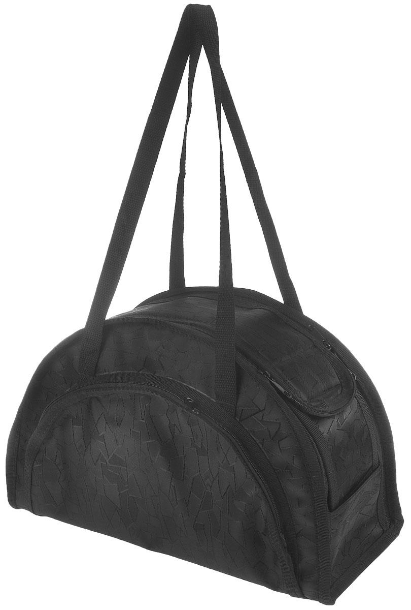 Сумка-переноска для животных  Elite Valley , модельная, складная, цвет: черный, 36 х 15 х 23 см - Переноски, товары для транспортировки