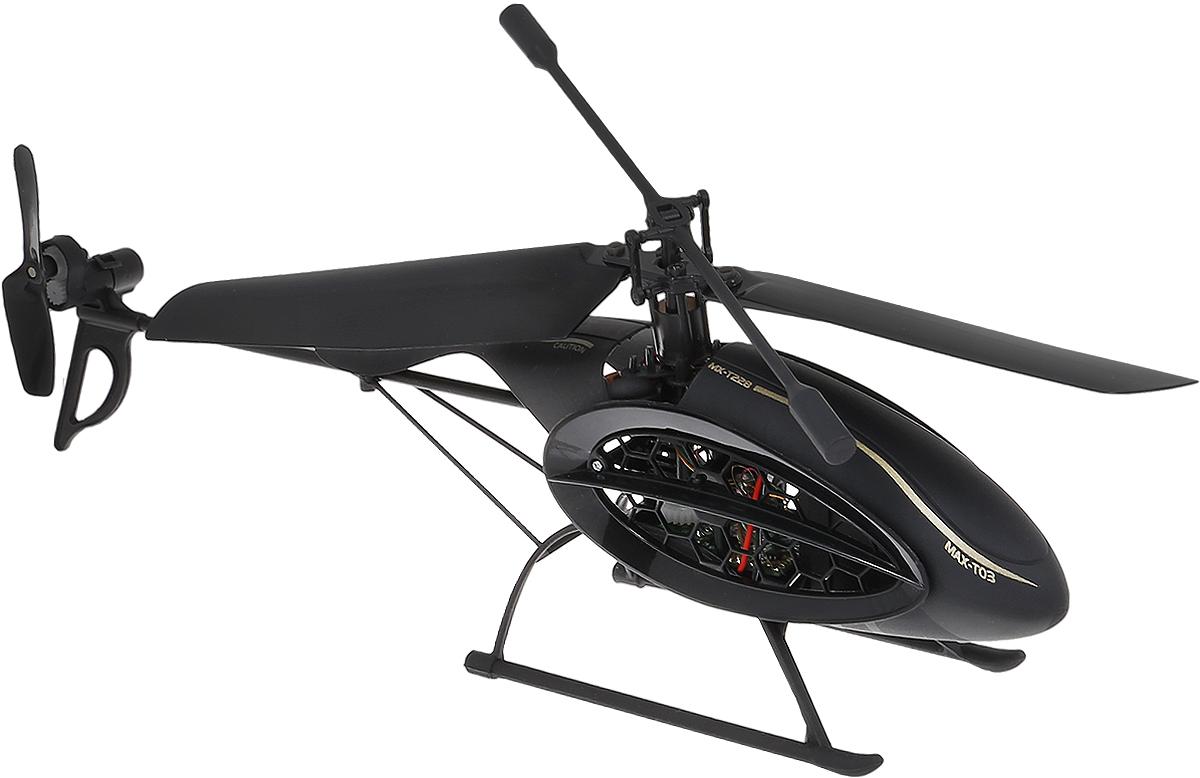 Silverlit Вертолет на инфракрасном управлении Феникс цвет черный вертолет sky dragon silverlit