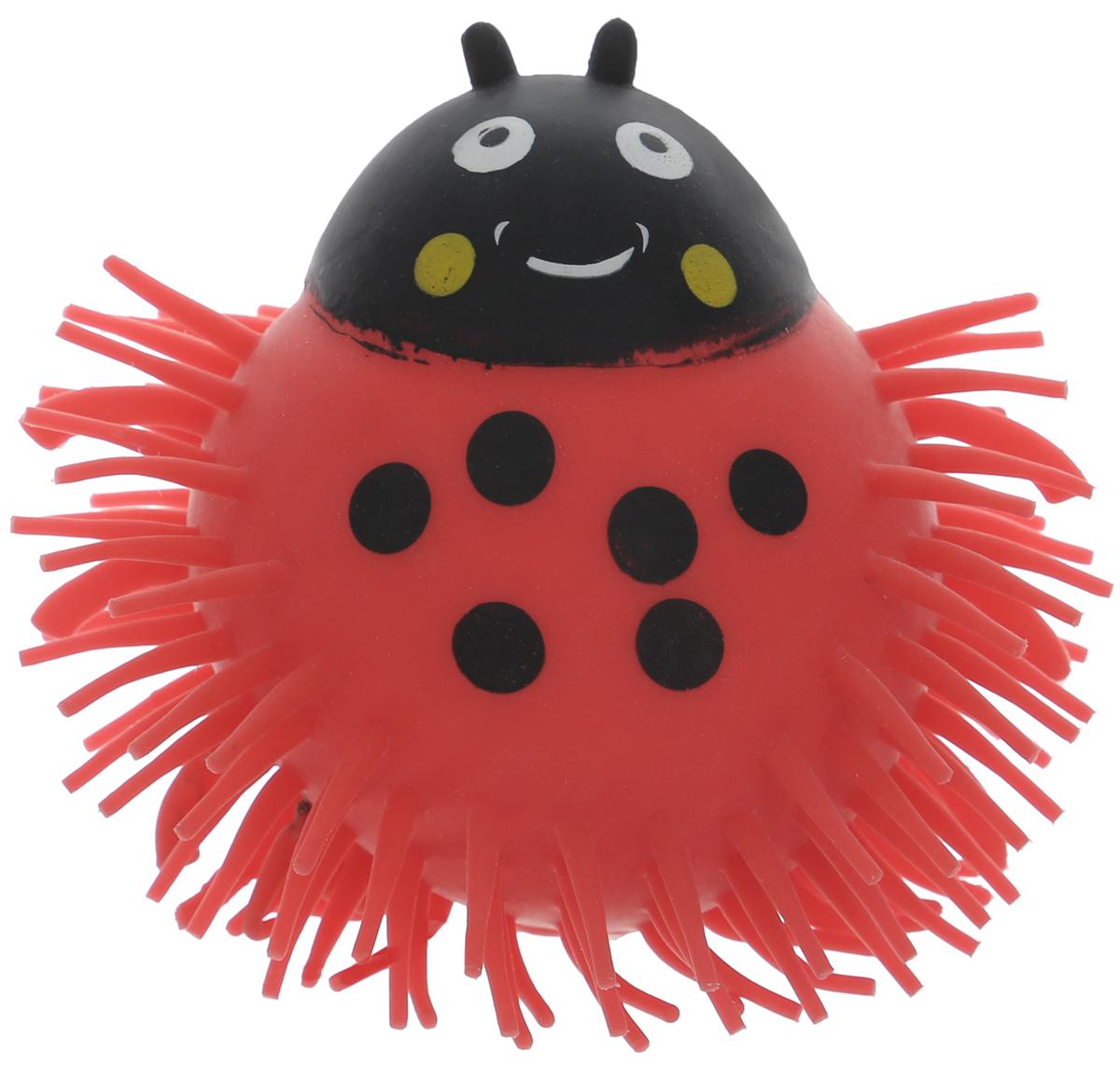 1TOY Игрушка-антистресс Ё-Ёжик Жук цвет красный 1toy игрушка антистресс ё ёжик животное цвет бежевый