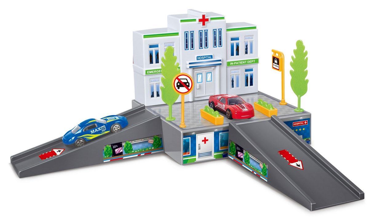Dave Toy Игровой набор Больница dave toy погрузчик инерционный
