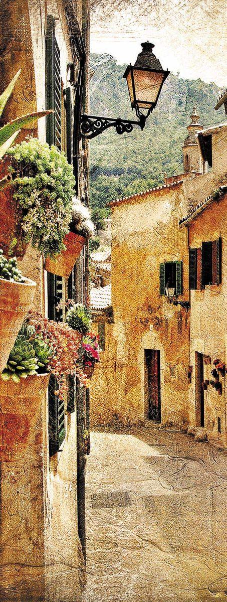 Фотообои Milan Старинный город, текстурные, 100 х 270 см. M 107