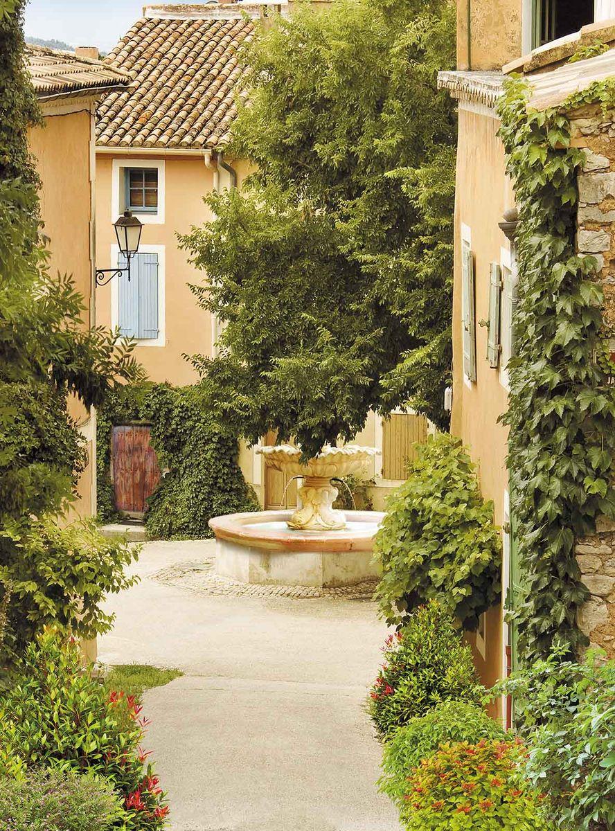 Фотообои Milan Уютный дворик, текстурные, 200 х 270 см