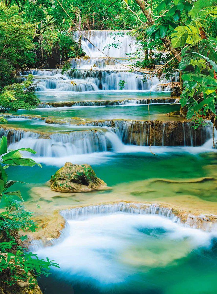 Фотообои Milan Спокойный водопад, текстурные, 200 х 270 см. M 222m 222Виниловые обои горячего тиснения на флизелиновой основе MILAN — дизайнерская коллекция фотообоев и фотопанно европейского качества, созданная на основе последних тенденций в мире интерьерной моды. Еще вчера эти тренды демонстрировались на подиумах