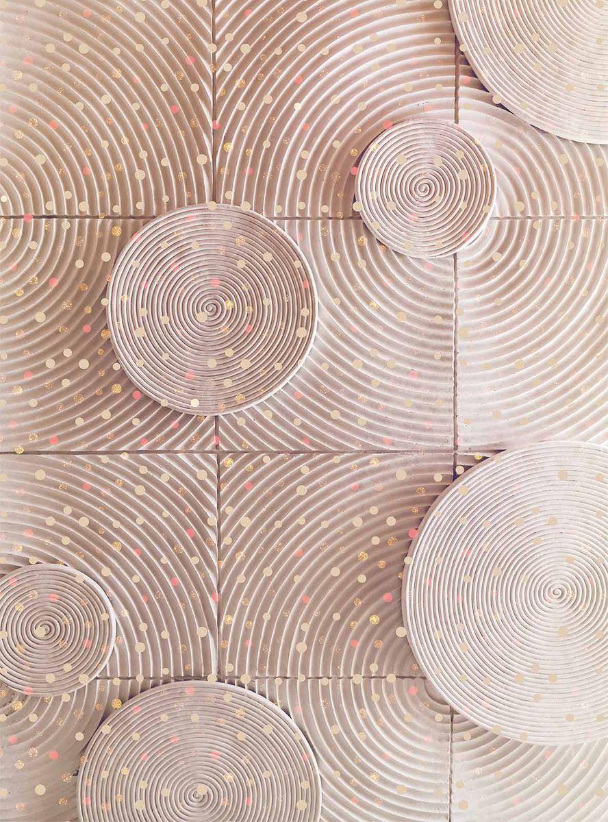 Фотообои Milan Спирали, текстурные, 200 х 270 см. M 223 фотообои milan мостик у цветущей вишни текстурные 200 х 135 см m 629