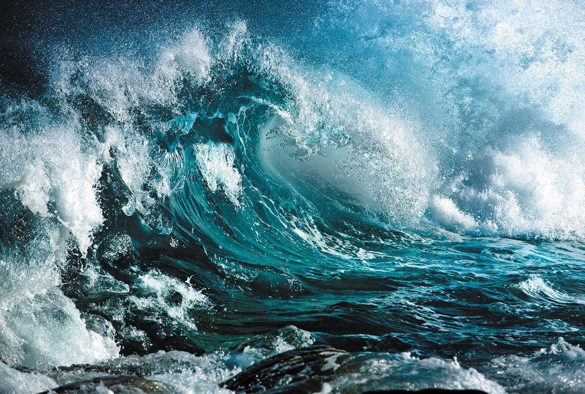 Фотообои Milan Морская волна, текстурные, 400 х 270 см. M 407m 407Виниловые обои горячего тиснения на флизелиновой основе MILAN — дизайнерская коллекция фотообоев и фотопанно европейского качества, созданная на основе последних тенденций в мире интерьерной моды. Еще вчера эти тренды демонстрировались на подиумах